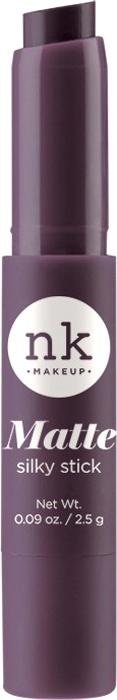 Nicka K NY Silky Cream Stick губная помада, 2,5 г, оттенок NK02 REVOLVER017344Помада с ультра-гладкой формулой. Шелковая текстура имеет как кремовый, так и матовый эффект для шикарного образа.Предлагается в нескольких оттенках, чтобы ваши губы были мягкими и шелковистыми.Какая губная помада лучше. Статья OZON Гид