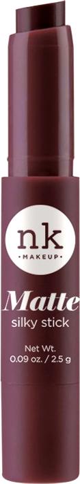 Nicka K NY Silky Cream Stick губная помада, 2,5 г, оттенок NKF05 PACO017344Помада с ультра-гладкой формулой. Шелковая текстура имеет как кремовый, так и матовый эффект для шикарного образа.Предлагается в нескольких оттенках, чтобы ваши губы были мягкими и шелковистыми.Какая губная помада лучше. Статья OZON Гид
