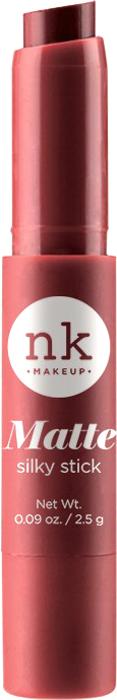Nicka K NY Silky Cream Stick губная помада, 2,5 г, оттенок NKF06 SANGUINE BROWN017344Помада с ультра-гладкой формулой. Шелковая текстура имеет как кремовый, так и матовый эффект для шикарного образа.Предлагается в нескольких оттенках, чтобы ваши губы были мягкими и шелковистыми.Какая губная помада лучше. Статья OZON Гид