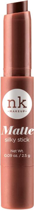 Nicka K NY Silky Cream Stick губная помада, 2,5 г, оттенок NKF07 POTTERS CLAY017344Помада с ультра-гладкой формулой. Шелковая текстура имеет как кремовый, так и матовый эффект для шикарного образа.Предлагается в нескольких оттенках, чтобы ваши губы были мягкими и шелковистыми.Какая губная помада лучше. Статья OZON Гид