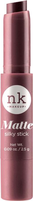 Nicka K NY Silky Cream Stick губная помада, 2,5 г, оттенок NKF08 TOSCA017344Помада с ультра-гладкой формулой. Шелковая текстура имеет как кремовый, так и матовый эффект для шикарного образа.Предлагается в нескольких оттенках, чтобы ваши губы были мягкими и шелковистыми.Какая губная помада лучше. Статья OZON Гид
