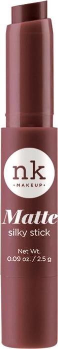 Nicka K NY Silky Cream Stick губная помада, 2,5 г, оттенок NKF09 CHERRYWOOD017344Помада с ультра-гладкой формулой. Шелковая текстура имеет как кремовый, так и матовый эффект для шикарного образа.Предлагается в нескольких оттенках, чтобы ваши губы были мягкими и шелковистыми.Какая губная помада лучше. Статья OZON Гид