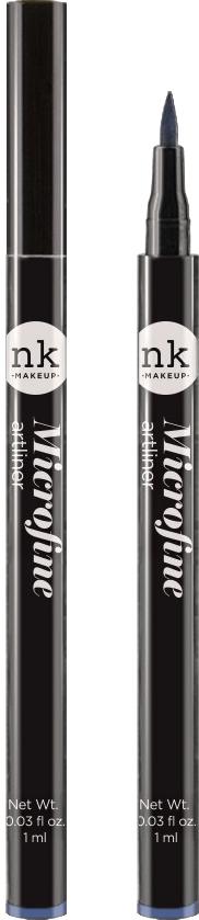 Nicka K NY Microfine Artliner маркер для глаз, 1 мл, оттенок NKA04 NAVY BLUE