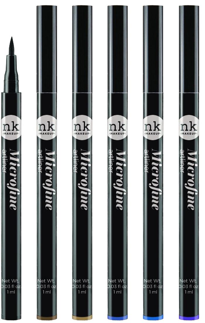 Nicka K NY Microfine Artliner маркер для глаз, 1 мл, оттенок NKA05 ROYALE BLUE017374Имеет удобный аппликатор, который позволяет легко создавать как выразительные стрелки, так и естественный контур глаз.