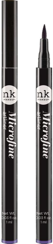Nicka K NY Microfine Artliner маркер для глаз, 1 мл, оттенок NKA06 VIOLET017374Имеет удобный аппликатор, который позволяет легко создавать как выразительные стрелки, так и естественный контур глаз.