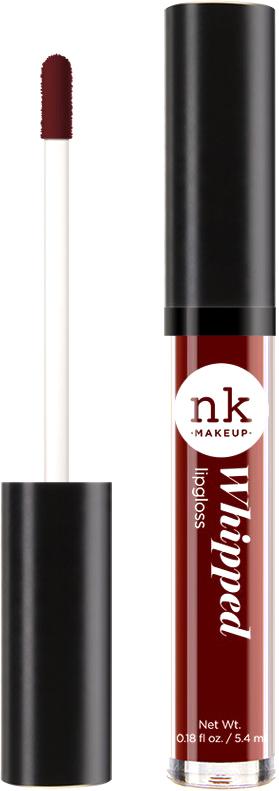 Nicka K NY Whipped Lip Gloss блеск для губ, 5,4 г, оттенок DARK RUFOUS nicka k ny fruity lip shine блеск для губ 11 мл оттенок candy