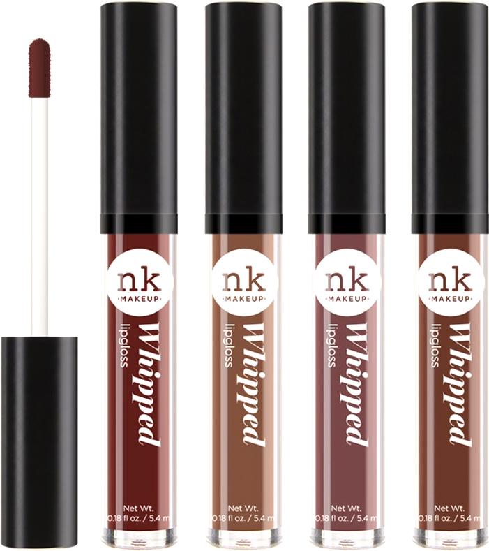 Nicka K NY Whipped Lip Gloss блеск для губ, 5,4 г, оттенок SEAL BROWN017381Глянцевый блеск для губ с ультра-кремовой, маслянисто-гладкой текстурой. Сочные, насыщенные цвета придадут объем.