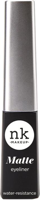 Nicka K NY Liquid Matte Eyeliner подводка для глаз, 3,5 мл nicka k ny bold eye liner подводка для глаз 0 56 г оттенок aa063 brown