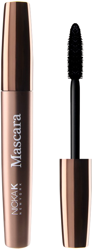 Nicka K NY Mascara тушь для ресниц, 9 мл, оттенок NY040 (BLACK/NOIR) тушь для ресниц absolute new york lash perfector mascara