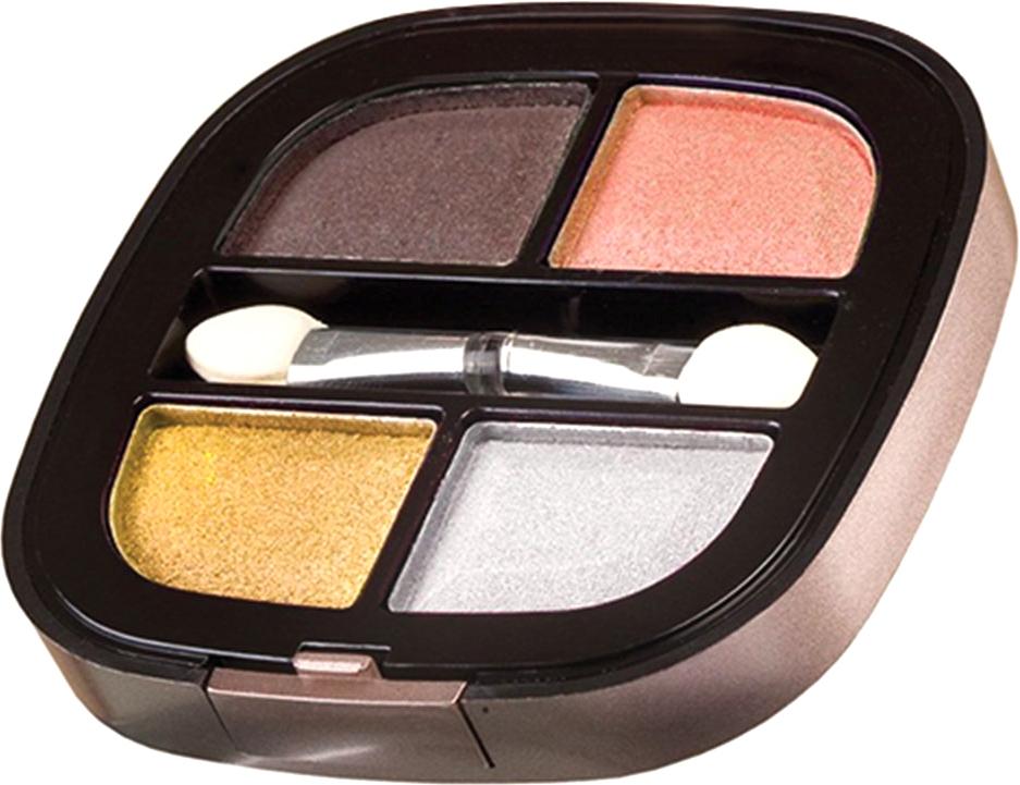 Nicka K NY Quad Eyeshadow тени для глаз, 8 г, оттенок NY072 MADERA017346Тени представлены в девяти цветовых наборах, которые позволят создать идеальный макияж глаз. Он придают взгляду магнетизм, глубину, силу и загадочность. Инновационная технология обеспечивает насыщенность цвета, удобство аппликации, а также необыкновенную стойкость.
