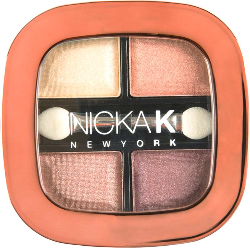 Nicka K NY Quad Eyeshadow тени для глаз, 8 г, оттенок NY075 SIERRA017346Тени представлены в девяти цветовых наборах, которые позволят создать идеальный макияж глаз. Он придают взгляду магнетизм, глубину, силу и загадочность. Инновационная технология обеспечивает насыщенность цвета, удобство аппликации, а также необыкновенную стойкость.