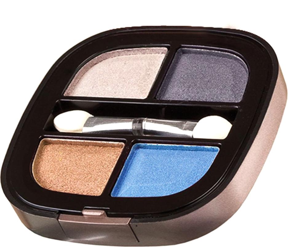 Nicka K NY Quad Eyeshadow тени для глаз, 8 г, оттенок NY076 VENTURA017346Тени представлены в девяти цветовых наборах, которые позволят создать идеальный макияж глаз. Он придают взгляду магнетизм, глубину, силу и загадочность. Инновационная технология обеспечивает насыщенность цвета, удобство аппликации, а также необыкновенную стойкость.