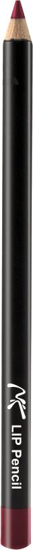 Nicka K NY Lip Pencil Карандаш для Губ, 1 г, оттенок A11017422Легко наносится, придает губам визуальный объем, предотвращает размазывание помады.