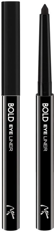 Nicka K NY Bold Eye Liner подводка для глаз, 0,56 г, оттенок AA061 BLACK017305Cуперустойчивый карандаш-лайнер для глаз. Легко наносится, придавая глазам выразительность.