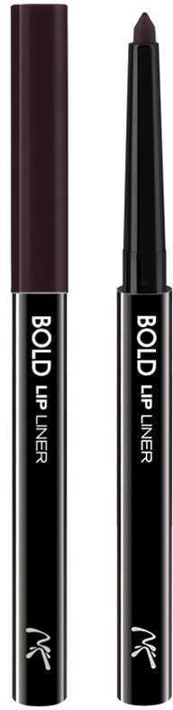 Nicka K NY Bold Lip Liner карандаш для губ, 0,56 г, оттенок AA065 PLUM017305Cкульптурирует губы и придает им визуальный объем, предотвращает размазывание помады и делает макияж губ более стойким.