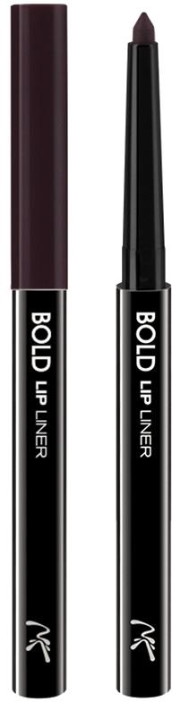 Nicka K NY Bold Lip Liner карандаш для губ, 0,56 г, оттенок AA065 PLUM nicka k ny bold eye liner подводка для глаз 0 56 г оттенок aa063 brown