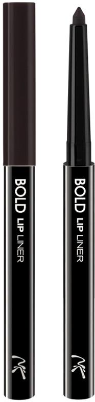 Nicka K NY Bold Lip Liner карандаш для губ, 0,56 г, оттенок AA067 DARK BROWN017305Cкульптурирует губы и придает им визуальный объем, предотвращает размазывание помады и делает макияж губ более стойким.