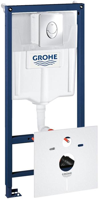 Инсталляция 4в1 GROHE Rapid SL с кнопкой смыва (38505000)