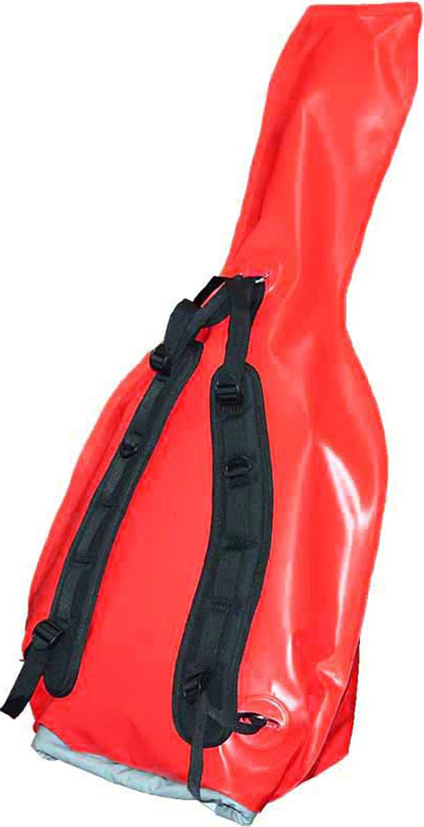 Гермомешок Вольный ветер, для гитары, цвет: красный21045Надёжный гермомешок Вольный ветер для гитары изготовлен из прочной ткани ПВХ. Гермомешок убережет инструмент во время похода в любую погоду. В комплекте удобные лямки для переноса гермомешка с гитарой на спине. При необходимости лямки отстёгиваются, а металлические кольца можно смело использовать как места крепления.