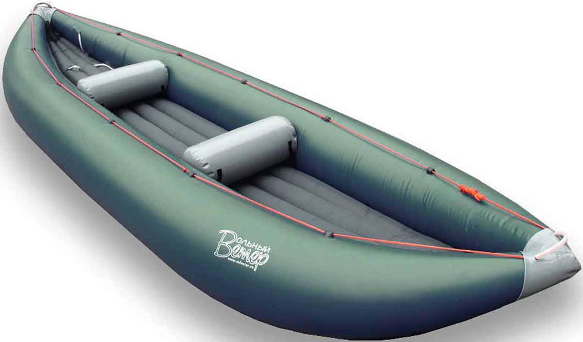 Лодка Вольный ветер Пионер 450, цвет: зеленый