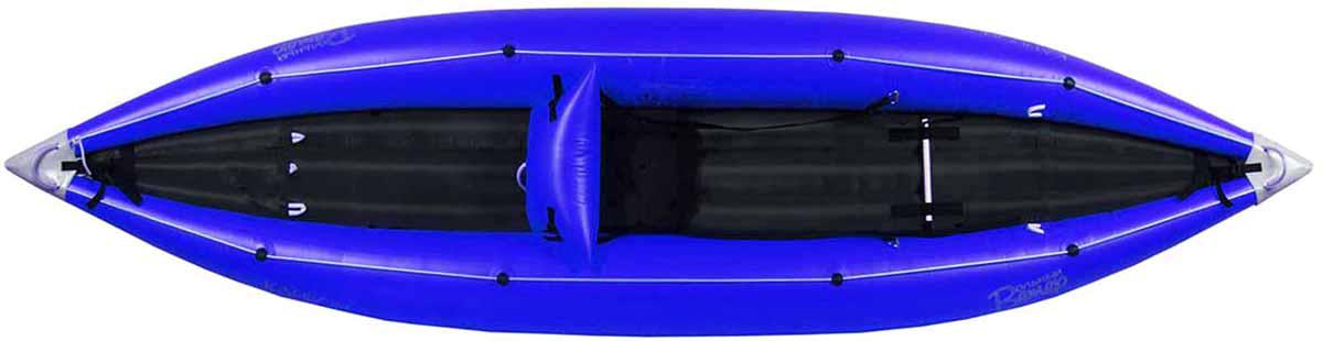Лодка Вольный ветер Соло, цвет: синий11002Байдарка для горных рек Соло - это увеличенный на 30 сантиметров вариант Спорта. Отлично подойдёт для сплава по порожистым рекам, а также продолжительных походов. Рассчитана на рослых и больших людей и много груза. Закаяченный нос и корма позволяют с лёгкостью преодолевать бочки, а система самоотлива эффективно убирает воду.Надувное дно амортизирует наскоки на камни и коряги, а самоотлив за 10-15 секунд сливает воду, набравшуюся в пороге.Спуск на байдарках по горным рекам подразумевает, что вы многократно будете влетать в камни и прочие препятствия. Поэтому байдарка Соло выполнена в виде двухслойной конструкции - внешняя оболочка из ПВХ и газодержащие баллонны внутри, что делает байдарку максимально защищённой от возможных проколов и порезов. Надувное дно амортизирует удары о камни и защищает от прорыва дна при налёте на камни, коряги и прочие природные препятствия. Как показала практика, такая конструкция байдарки боится только техногенных гадостей на реке в виде острой арматуры под мостами или битого стекла у берега и т. д. Модель Соло - это лучшая байдарка для сплава с полным комплектом вещей, которые располагают на носу и корме байдарки. Увеличенная длина, по сравнению с моделью Спорт позволит загрузить больше вещей для длительного путешествия и с комфортом устроится рослым и габаритным людям.В корму лодки спокойно умещается наша конусная герма на 80 литров или стандартная герма на 100-120 литров, а в нос укладывается конус 40 или, в зависимости от роста человека, 60 литров. Это позволит использовать байдарку в продолжительном автономном походе. Вы можете смело взять с собой вещей на несколько недель автономки.Длина: 370 см. Ширина: 94 см. Вес: 11 кг.Грузоподъемность: 140 кг.