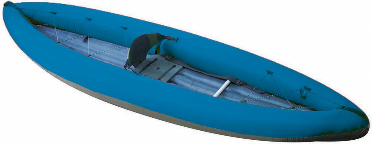 Лодка Вольный ветер Т-34, цвет: синий11028Надувная одноместная байдарка Т-34 — это отличный вариант, если вам нужна максимальная компактность в сложенном виде, малый вес и в то же время надувное дно, система самоотлива и упоры, чтоб можно было проходить пороги.Как выбрать надувную лодку для рыбалки. Статья OZON Гид