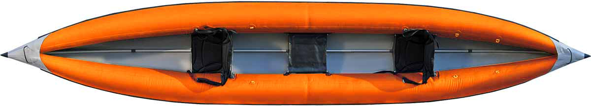 Каркасно надувная байдарка Вольный ветер Варяг 540, цвет: оранжевый