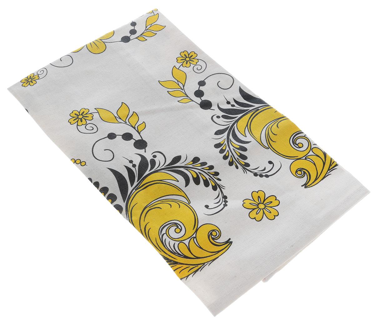 Полотенце кухонное LarangE От Шефа.Роспись, цвет: черный, желтый, 45 х 60 см627-003_черный, желтыйКухонное полотенце LarangE От Шефа. Роспись изготовлено из льна и хлопка и оформлено рисунком. Полотенце идеально впитывает влагу и сохраняет свою мягкость даже после многих стирок. Полотенце LarangE От Шефа - отличный вариант для практичной и современной хозяйки.