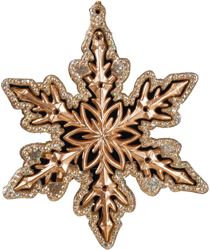 Украшение для интерьера новогоднее Erich Krause Снежинка звездная, 13 см36014Роскошь снежинки подчеркнута искусным узором веток и нарядными блестками. Оригинально применены две технологии исполнения, благодаря чему четко выражен периметр и лучи снежинки.Новогодние украшения всегда несут в себе волшебство и красоту праздника. Создайте в своем доме атмосферу тепла, веселья и радости, украшая его всей семьей.
