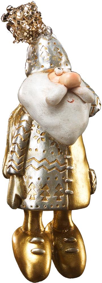 Украшение для интерьера новогоднее Erich Krause Санта в шапке золотой, 13 см41219Санта Клаус выполнен из полирезины. Костюм, шапка и ботинки окрашены блестящей золотой краской. Групповая упаковка предназначена только для безопасной транспортировки и хранения.