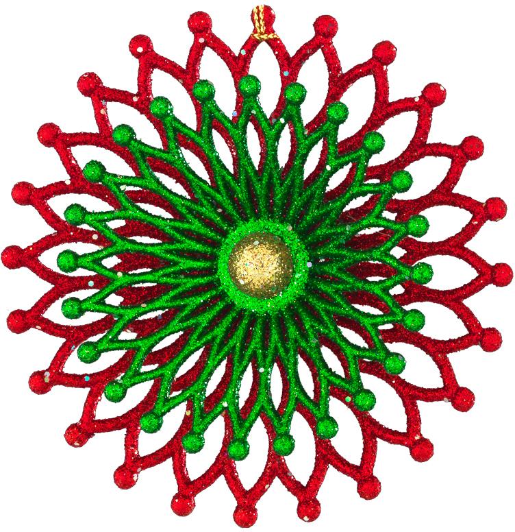 Украшение для интерьера новогоднее Erich Krause Рождественская ночь, 10,5 см43681Необычное украшение круглой формы привлекает внимание резной текстурой и красивым сочетанием цветов. Внешний вид напоминает экзотический цветок или коралл. Новогодние украшения всегда несут в себе волшебство и красоту праздника. Создайте в своем доме атмосферу тепла, веселья и радости, украшая его всей семьей.