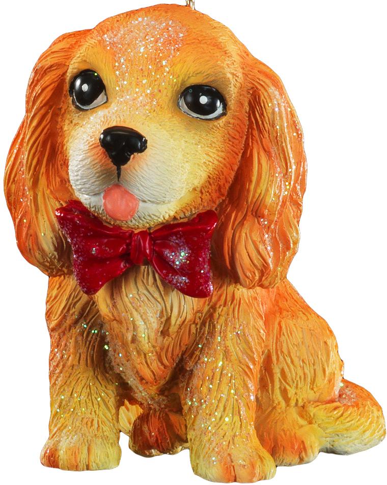 Очаровательный спаниель, выполненный из полирезины, отличается точно прорисованными деталями. Цвет собаки очень натуральный. Можно использовать как украшение для искусственных елок или как сувенир. Новогодние украшения всегда несут в себе волшебство и красоту праздника. Создайте в своем доме атмосферу тепла, веселья и радости, украшая его всей семьей.