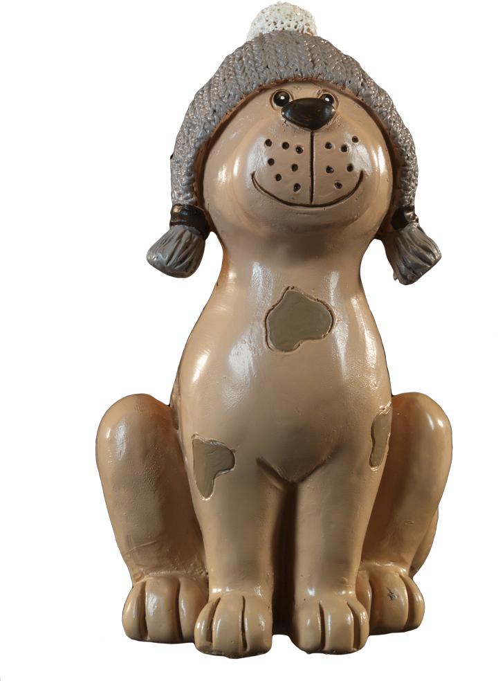 Сувенир новогодний Erich Krause Милашка, 14 см43926Год Собаки наступает в 2018 году. Милая собачка в теплой шапке приветливо улыбается. Сувенир выполнен из полирезины и отличается качественной прорисовкой деталей. Каждое изделие упаковано в полибэг и дополнительный слой воздушно-пузырьковой пленки. Упаковка предназначена только для безопасной транспортировки и хранения.
