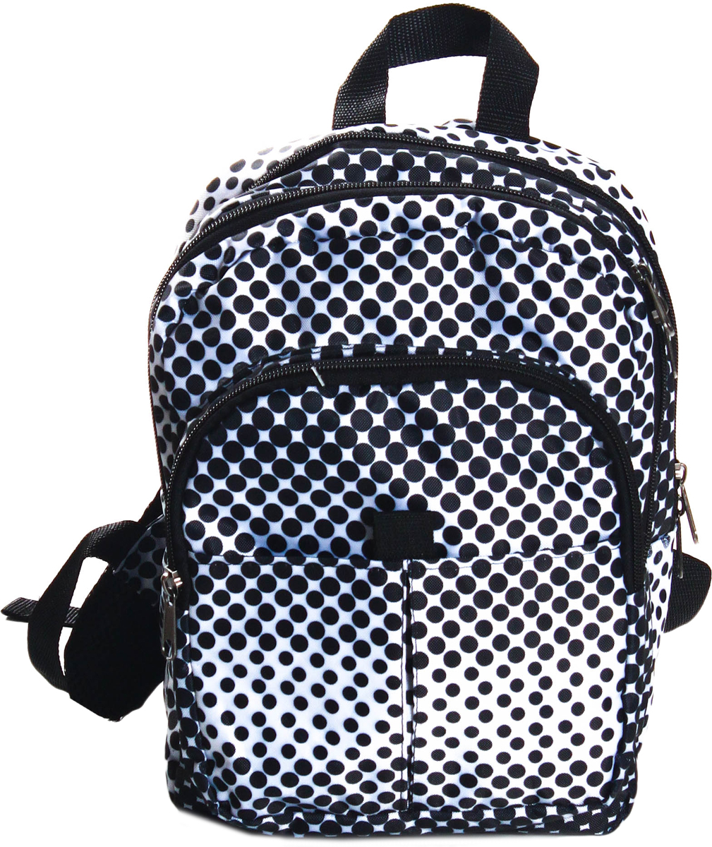Рюкзак детский Ibag Черно-белые кружки, цвет: черный, 8 л081 черно-белые ружкиТекстильный рюкзак Ibag Черно-белые кружки для маленьких модников и модниц! Идеален, как для повседневной носки, так и для поездок и путешествий. В свой рюкзак ваш ребенок сможет собрать самые необходимые для него вещи : любимую игрушку, раскраску, интересную книгу или свой гаджет. Данная модель не смотря на размер очень вместительна, имеет два основных отделения и два кармана на молнии снаружи.