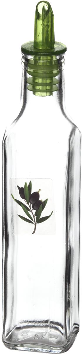 """Оригинальная и практичная бутылка для масла """"Remmy Home"""", выполненная из стекла, не только поможет хранить масло, но и стильно дополнит интерьер вашей кухни. Она легка в использовании: благодаря пластиковой крышке с дозатором вы с легкостью сможете добавить в блюдо оливковое или подсолнечное масло, уксус или соус, не снимая пробку."""