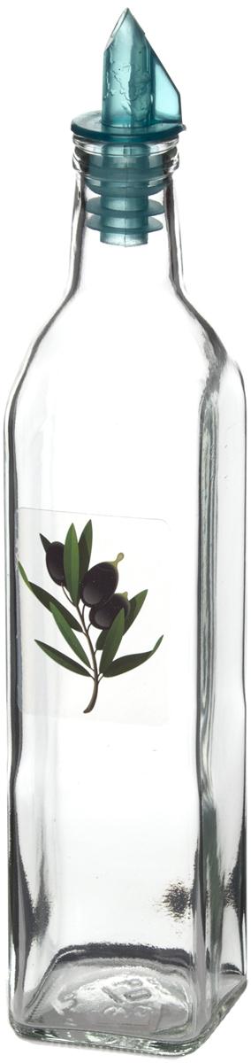 Бутыль для масла Remmy Home, 500 мл500021Оригинальная и практичная бутылка для масла Remmy Home, выполненная из стекла, не только поможет хранить масло, но и стильно дополнит интерьер вашей кухни. Она легка в использовании: благодаря пластиковой крышке с дозатором вы с легкостью сможете добавить в блюдо оливковое или подсолнечное масло, уксус или соус, не снимая пробку.