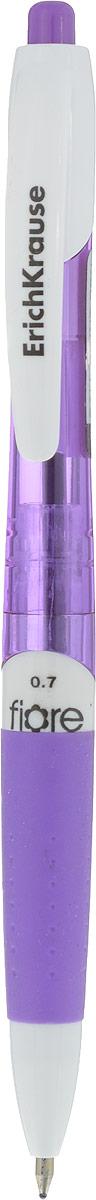 Erich Krause Ручка шариковая Fiore цвет корпуса фиолетовый синяя erich krause ручка шариковая vivo цвет корпуса оранжевый синяя