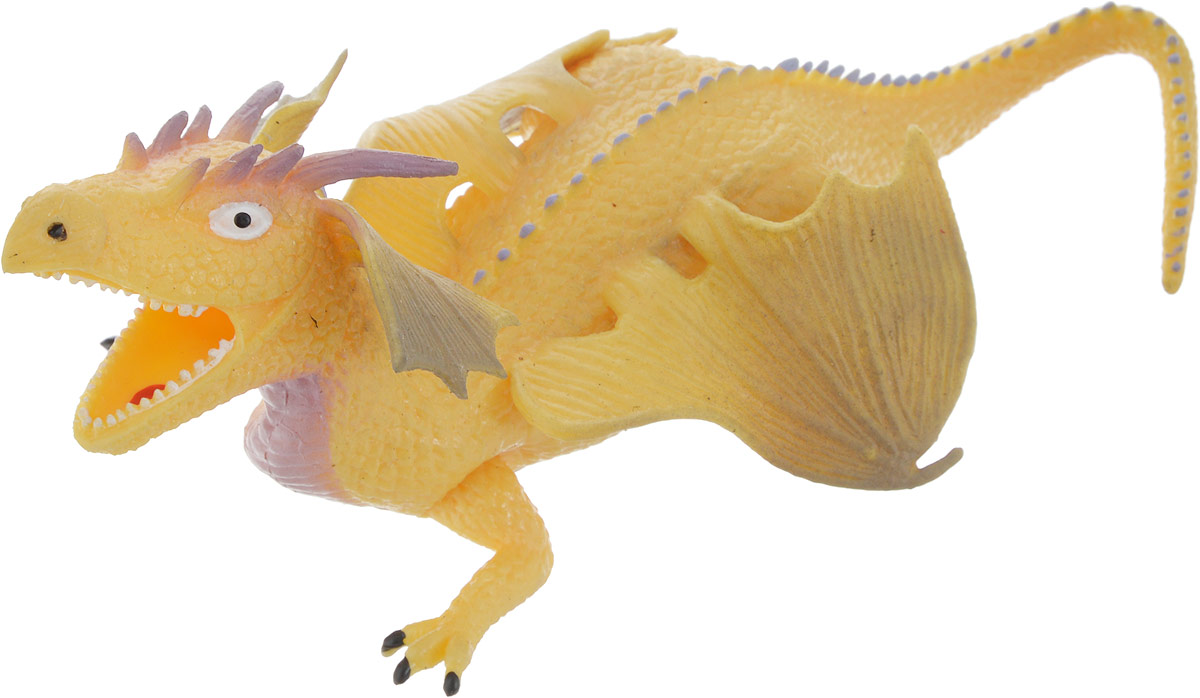 Играем вместе Фигурка Дракон-тянучка цвет желтый