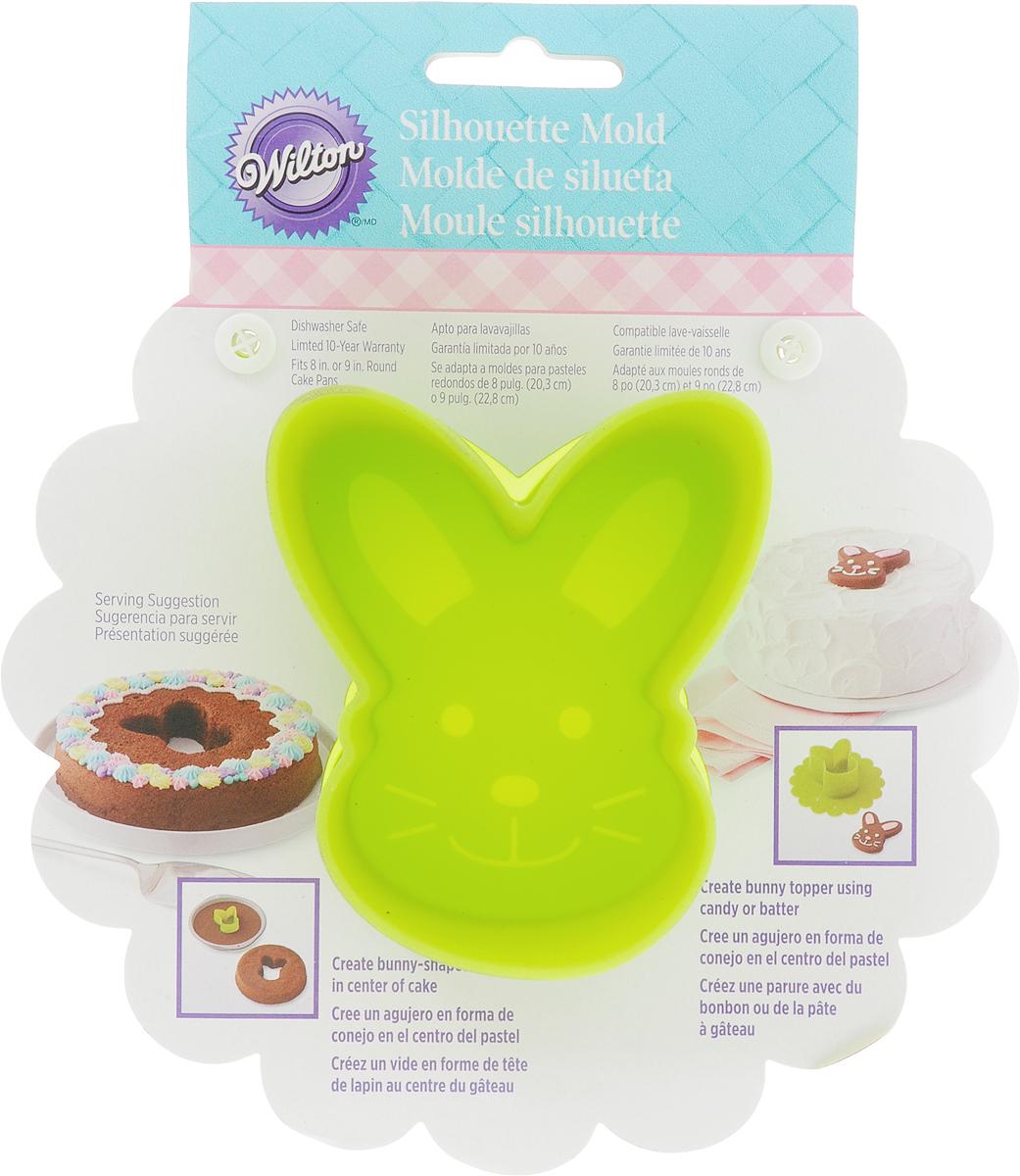 Форма для выпечки и заморозки Wilton Зайка, силиконоваяWLT-2105-3966Силиконовая форма Зайка для выпечки в духовке/микроволновке, для заморозки, создания конфет