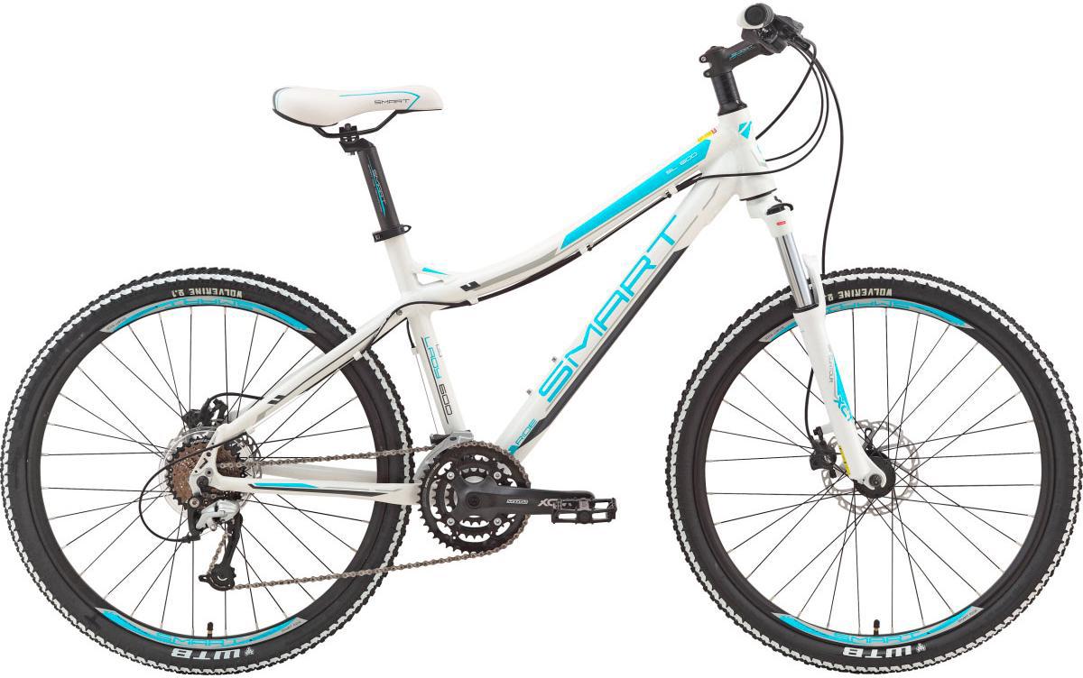 Велосипед женский Smart Lady 600, цвет: белый, рама 16, колесо 26111052