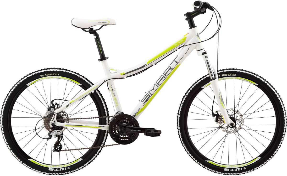 Велосипед женский Smart Lady 200, цвет: белый, рама 18, колесо 26111059