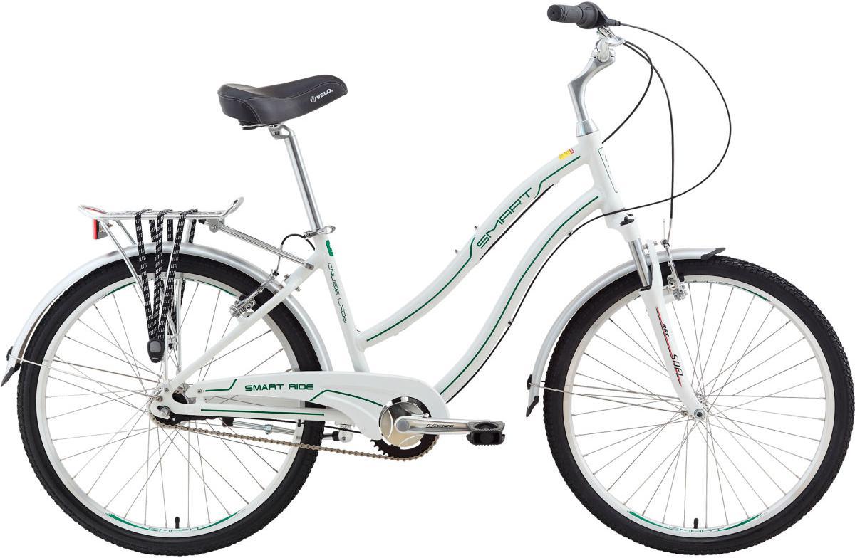 Велосипед женский Smart Cruise Lady, цвет: фиолетовый, рама 16, колесо 26111078