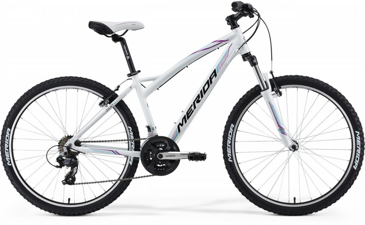 Велосипед женский Merida Juliet 10 2014, цвет: белый, рама 16, колесо 26111241