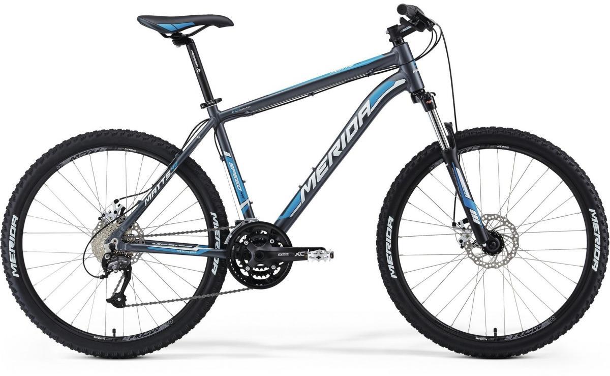 Велосипед горный Merida Matts 40-MD 2014, цвет: серый, рама 18, колесо 26111257