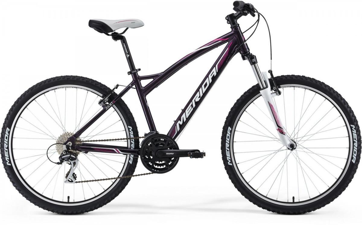 Велосипед женский Merida Juliet 15 2014, цвет: фиолетовый, рама 18, колесо 26111730