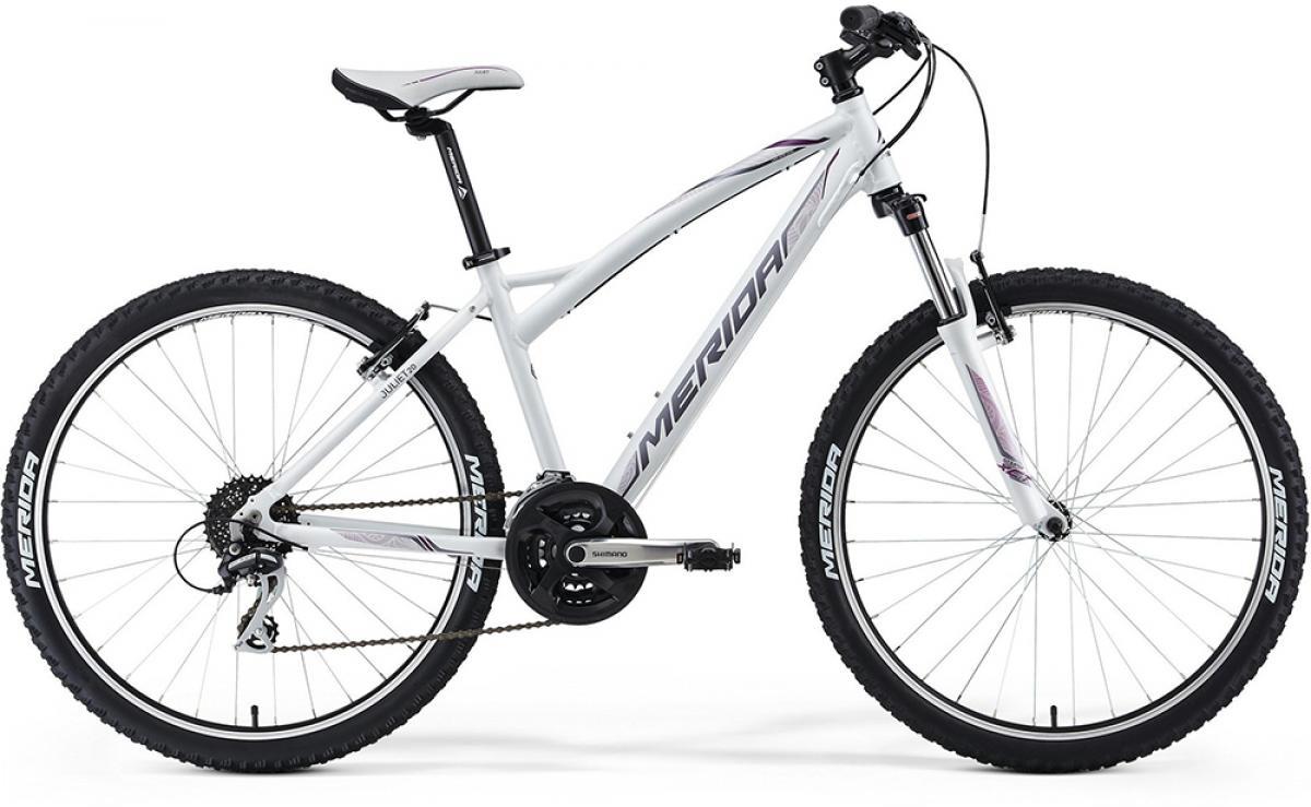 Велосипед женский Merida Juliet 20-V 2014, цвет: белый, рама 18, колесо 26111752