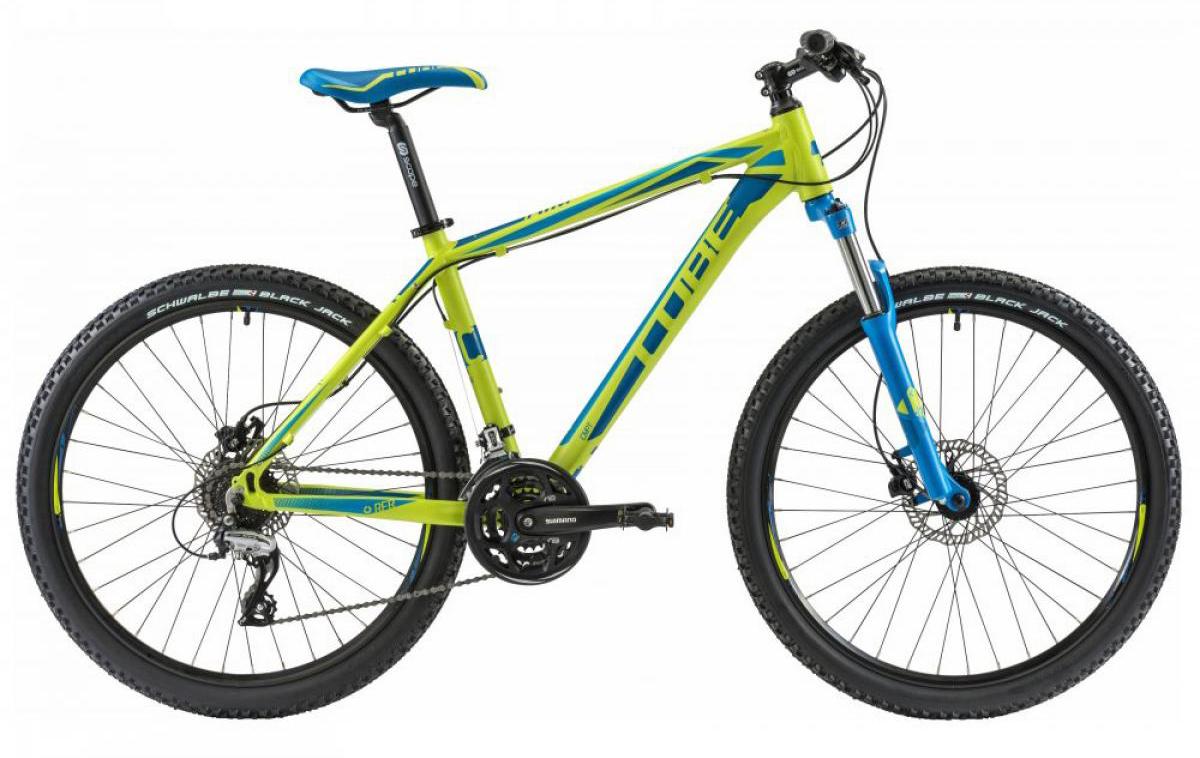 Велосипед горный Cube AIM Disc 2014, цвет: зеленый, рама 18, колесо 26111807