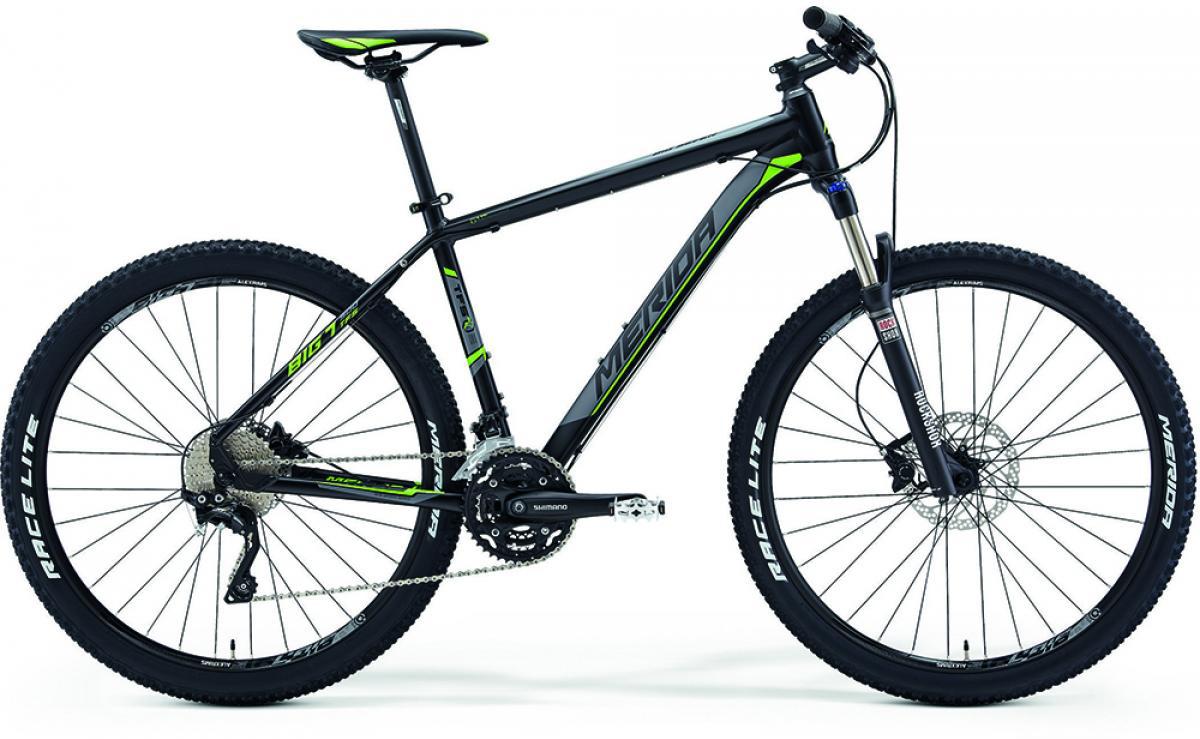 Велосипед горный Merida Big.Seven 500 2014, цвет: зеленый, рама 18,5, колесо 27,5111813