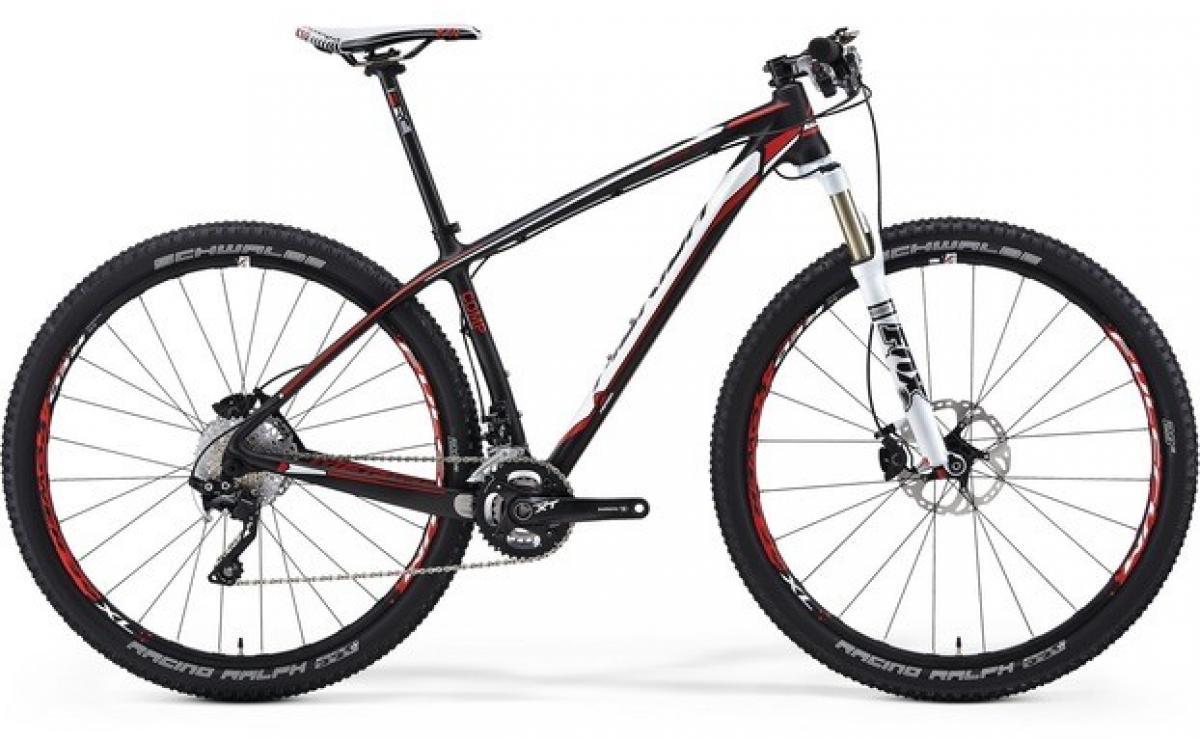 Велосипед горный Merida Big.Nine CF 3000 2014, цвет: красный, рама 19, колесо 29111836