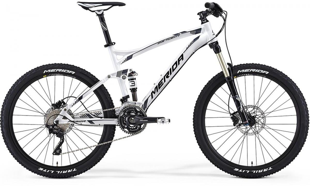 Велосипед горный Merida One-Twenty 900 2014, двухподвесный, цвет: белый, рама 18, колесо 26111861